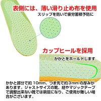 ハニカムインソール【2足セット】中敷き軽い衝撃吸収メンズインソールレディースインソール抗菌防臭底の薄い靴ウォーキング中敷立ち仕事