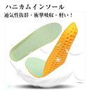 ハニカムインソール 中敷き メンズ インソール レディース 軽い 衝撃吸収 抗菌 防臭 底の薄い靴 ウォーキング 中敷 立ち仕事 1