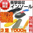 【 福袋 2018 】 インソール 中敷き 3足アソート 衝...