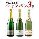 シャンパン3本セット 第6弾 シャンパンセット【12本単位の...