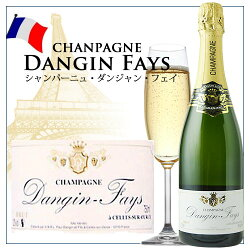 [NV]ブリュットダンジャン・フェイシャンパーニュフランス(750ml泡・シャンパン)【YDKG-t】