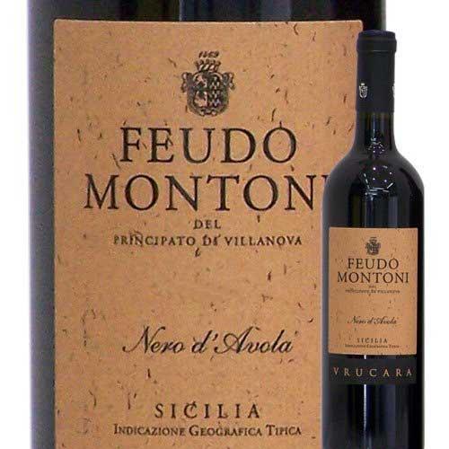 セレッツィオーネ・ヴルカラ フェウド・モントーニ 2009年 イタリア シチリア 赤ワイン フルボディ...