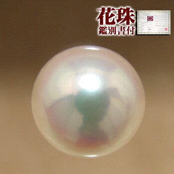 最高品質のオーロラ花珠真珠 「あこや本真珠パールルース(シングル)8.0...