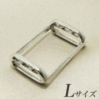 ブローチを帯留めに変身!万能くん金具 L(1.7×2.5cm) シルバー(silver)[n3](和装 着物)(冠婚葬祭 フォーマル 入学式 卒業式 成人式)
