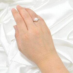 「あこや本真珠パールリング(指輪)ホワイト系8.0-8.5mmBBBPt900」プラチナ(アコヤ本真珠)