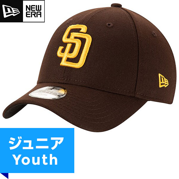 MLB パドレス レプリカ9FORTYキャップ(ジュニア) New Era San Diego Padres Youth Game Replica 9Forty Cap画像