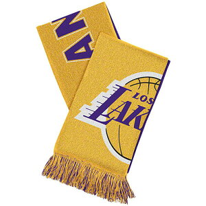 NBA アディダス チームマフラー レイカーズ adidas Los Angeles Lakers Overtime Team Scarf