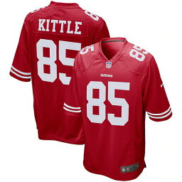 NFL Gameジャージ ジョージ・キトル フォーティナイナーズ(スカーレット) Nike George Kittle San Francisco 49ers Scarlet Game Jersey