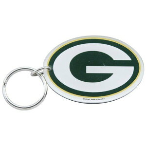 NFL チームロゴ アクリル キーチェーン パッカーズ Green Bay Packers High Definition Logo K...