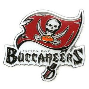 NFL チームロゴ ピンバッジ バッカニアーズ Tampa Bay Buccaneers Team Logo Pin