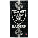 NFL Official Fiber Reactive Beach Towel by McArthur TowelsNFL ビッグタオル オークランド・...