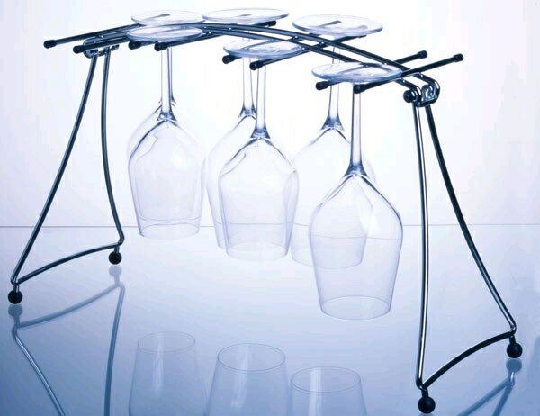『卓上 吊下げ ワイングラスハンガー(P4225LG)』
