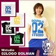 Wstudio☆ダブルスタジオ☆【全4色】02LOGODOLMAN☆