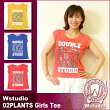 Wstudio☆ダブルスタジオ☆【全3色】02PLANTSGirlsTee☆