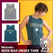 【送料無料】Wstudioダブルスタジオ【全2色】NEONBIASUNISEXTANKフィットネスウェア