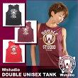 【メール便対応】Wstudioダブルスタジオ【全3色】DOUBLEUNISEXTANKフィットネスウェア