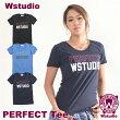 【ネコポス対応】Wstudioダブルスタジオ【全3色×2サイズ】PERFECTTeeフィットネスウェア