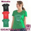【ネコポス対応】Wstudioダブルスタジオ【全3色】02CACTUSTeeフィットネスウェア