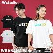 【ネコポス対応】Wstudioダブルスタジオ【全2色×2サイズ】WBANANAWideTeeフィットネスウェア
