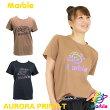 【ネコポス対応】【Marble】マーブル/ユニセックス【全2色×4サイズ】オーロラプリントTシャツ/フィットネスウェア