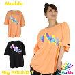 【ネコポス対応】【Marble】マーブル/ユニセックス【全2色×3サイズ】BigラウンドT/フィットネスウェア