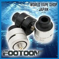 【独特なエアフロー・デッキを搭載!】Footoon Aqua Master RDA フートゥーン アクアマスター電子タバコ VAPE アトマイザー