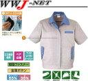 女子作業服 ユニフォーム最適素材 レディース半袖ブルゾン 412 桑和 SOWA SW412 春夏物 2