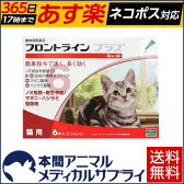 【送料無料】猫用 フロントラインプラス 1箱 6本入 6ピペット【動物用医薬品】