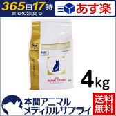 【2個で200円OFFクーポン】【送料無料】ロイヤルカナン 食事療法食 猫用 消化器サポート 可溶性繊維 ドライ 4kg