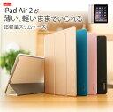 【アウトレット商品】WY iPad Air 2専用スリムケース スタンド機能、自動スリープ機能付