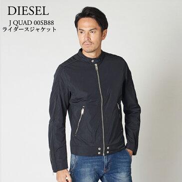 ディーゼル ライダースジャケット DIESEL J QUAD 00SB88 0EARM ブラック