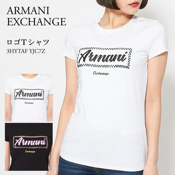 アルマーニエクスチェンジ レディース Tシャツ 3HYTAF YJC7Z 選べるカラー ARMANI EXCHANGE 【ゆうパケ可】 【cll】【smc】