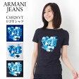 アルマーニ アルマーニジーンズ レディース Tシャツ ARMANI JEANS C5H28 VT ロゴ 選べる3カラー 【アルマーニ ジーンズ:Armani jeans】