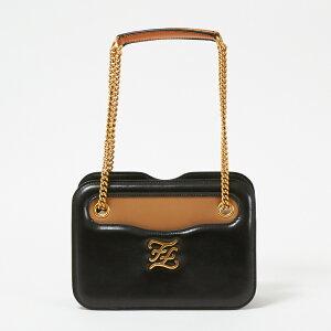 Fendi Shoulder Bag [Car Regraphic Pocket] 8BT318 AAFF F19TO Black (BLACK+GINGER+BREAD+VIBRA) FENDI [bgl]