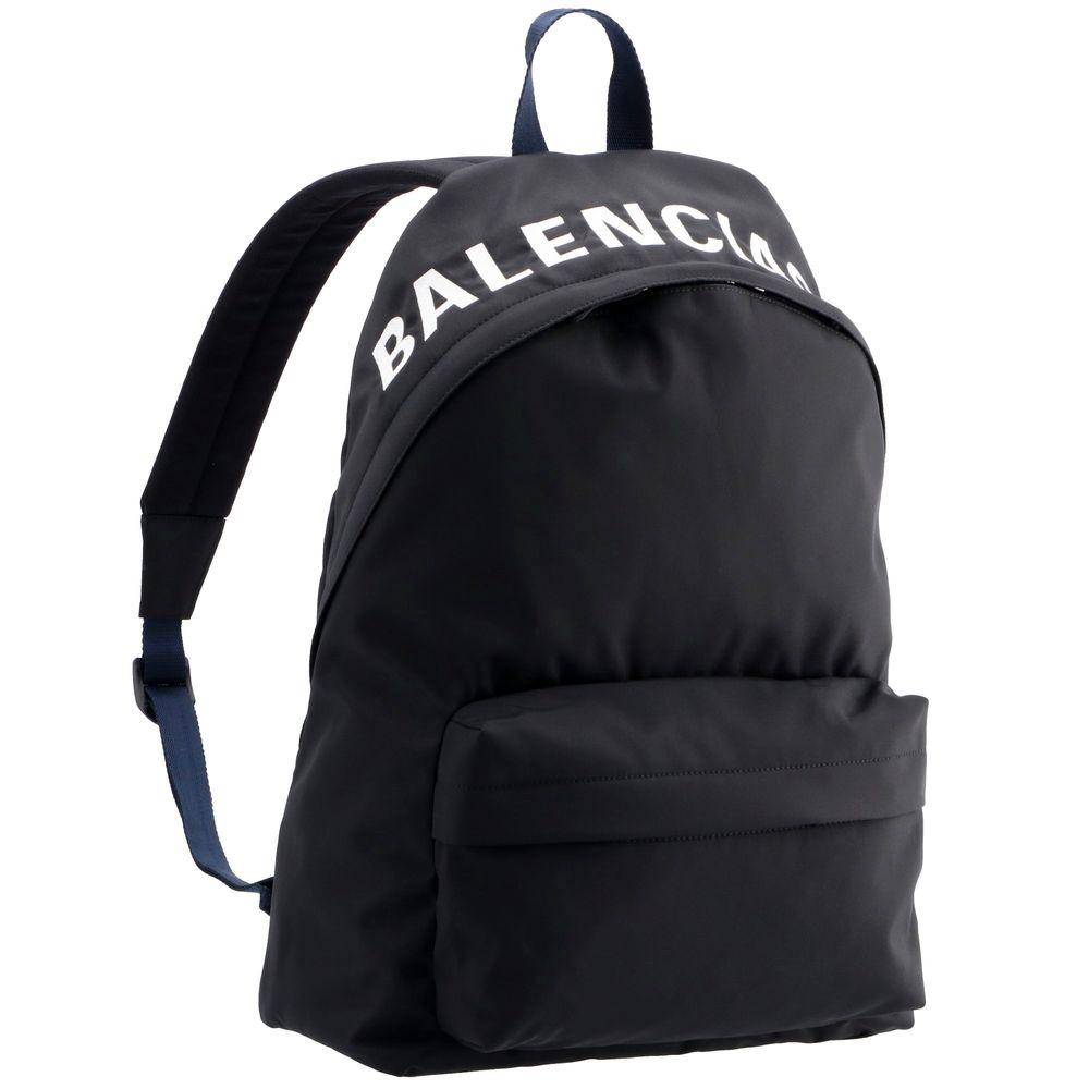 男女兼用バッグ, バックパック・リュック  WHEEL BACKPACK 507460 HPG1X (1090 BLACKNAVY BLUE) BALENCIAGA bglbgm
