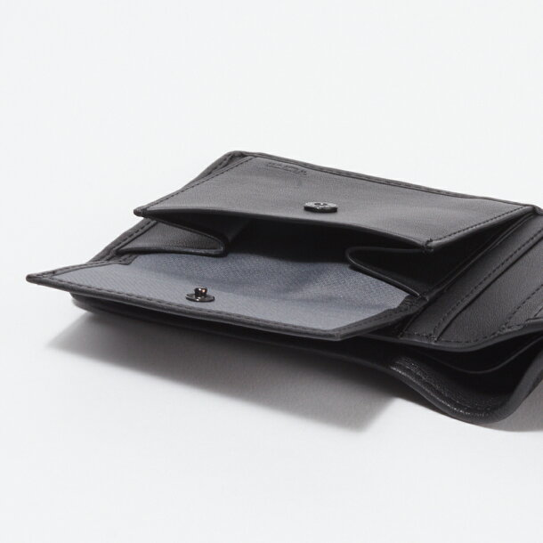 8f70316439b5 トゥミ TUMI 財布 折財布 【Global Wallet With Coin Pocket】 BLACK 119237 DID ALPHA SLG