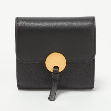 クロエ 財布 折財布 CHLOE 3P0811 H8J 001 BLACK 【INDY SLG:インディ】