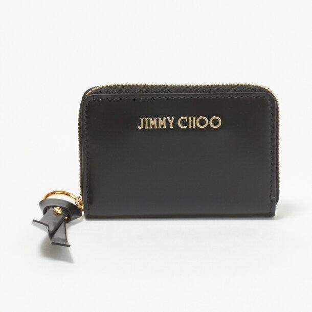 b0473aa7ea55 ... ジミーチュウ JIMMY CHOO コインケース REID SBK BLACK/GOLD 【REID】の画像