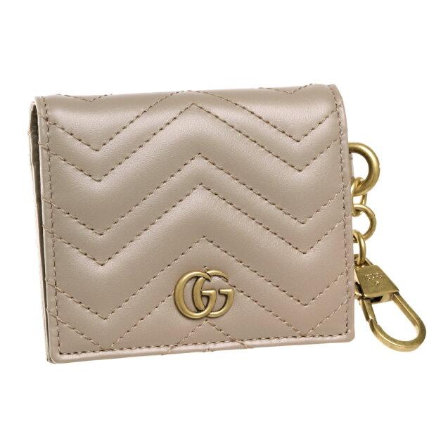 グッチ GUCCI カードケース 【GG MARMONT】 546579 DTDHT 5729 ピンク系(PORCELAIN ROSE)の画像