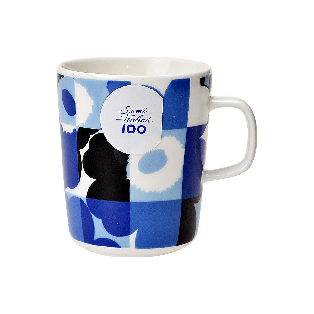 マグカップ・ティーカップ, マグカップ  MARIMEKKO 67304 501 RUUTU-UNIKKO 250ml scd