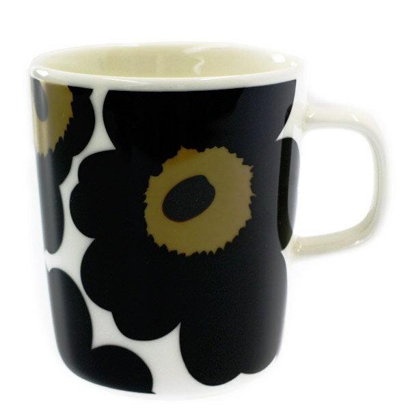 マリメッコ マグカップ MARIMEKKO 063431-030 UNIKKO ウニッコ ブラック 250ml 【scd】【hkc】【pap】【hkc】【scd】【glw】