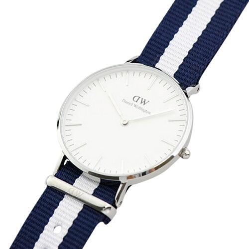ダニエルウェリントン 腕時計 ユニセックス DANIEL WELLINGTON 0602DW グラスゴー シルバーカラー ...