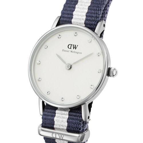 ダニエルウェリントン DANIEL WELLINGTON 腕時計 レディース 0928DW クラッシー シルバーカラー 26...