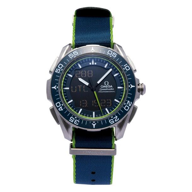 オメガ OMEGA 腕時計 メンズウォッチ スピードマスター スカイウォーカー X-33 318.92.45.79.03.001 メンズの画像