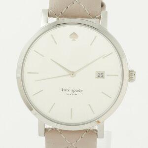 ケイトスペード時計レディースウォッチKATESPADE1YRU0846シルバー×ベージュグレー