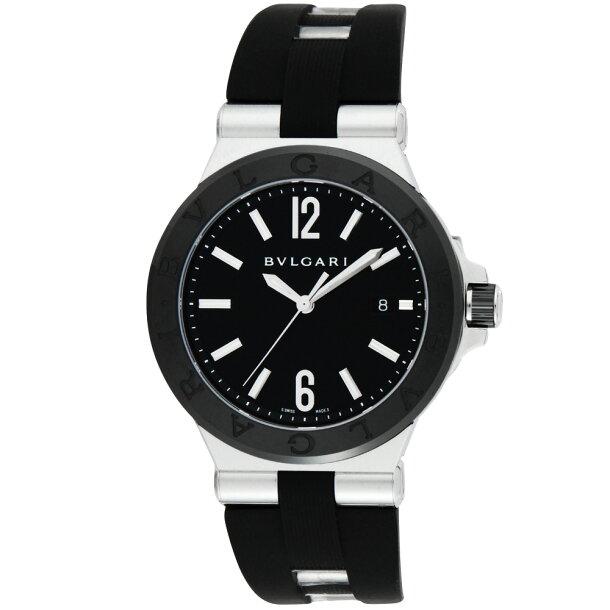 ブルガリ BVLGARI 時計 メンズウォッチ DG42BSCVD 【ディアゴノ】 ブラックの画像