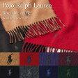 ポロ ラルフローレン マフラー POLO RALPH LAUREN 6F0513 選べるカラー