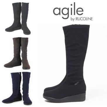 ルコライン ロングブーツ RUCOLINE 2615 アージレバイ ルコライン:AGILE BY RUCOLINE NICOLE 選べる3カラー