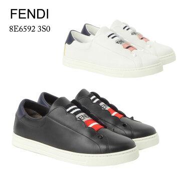 フェンディ FENDI レディスシューズ レザースニーカー 8E6592 3S0 選べるカラー