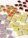 モザイクタイル テンアート 10mm角選べるカラーは全61色♪1cm角の小さなタイル50g単位で量り売りします(50粒前後)10×10×4mm【ゆうパケット可】【500gまでゆうパケット可能】